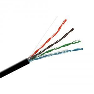 Кабель Одескабель КПП-ВП (100) 4*2*0,51 (UTP-cat.5E), OK-net, СU, изоляция ПЭ, для нар. работ, 305 м