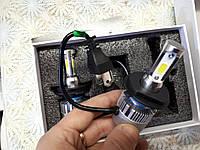 Лампы Н4 БИ LED CIP SHO-ME Т10 6000K FAN 12-24 V радиатор с вентилятором