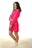 Женский махровый халат Код мх38