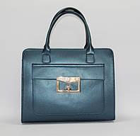 Женская сумка портфель. Натуральная кожа. Италия