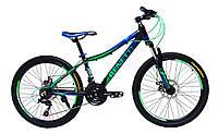 Велосипед для подростков и детей BENETTI  24 АЛЛЮМ