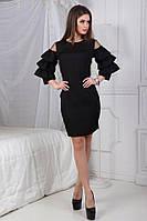 Платье рукава воланы в расцветках 23959, фото 1