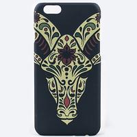 "Пластиковая накладка Animal Pattern для Apple iPhone 6/6s (4.7"") Жираф"