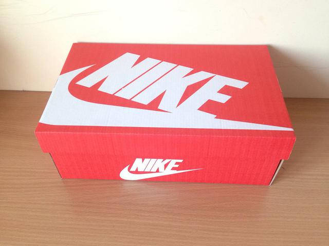 Коробка Nike всегда в наличии