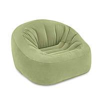 """Надувное кресло Intex 68576 """"Club Chair"""" 124х119х76см, фото 1"""