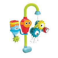 Игровой набор для игры в ванной «Волшебный кран с шестеренками»