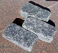 Галтованная брусчатка из гранита (габбро) 20х10х5 см