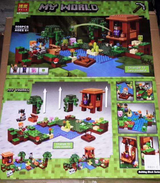 Конструктор Bela 10622 Minecraft Майнкрафт Хижина ведьмы 508 дет