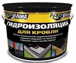 ТЕХНОніколь мастіка гідроізоляційна бітумна холодна AquaMast 18 кг