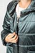 Детская демисезонная куртка Мэри, сталь, р.122-140, фото 5