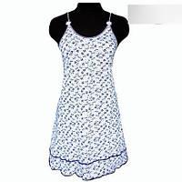 Ночная рубашка на тоненьких брительках с 44 по 50 размер