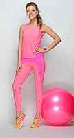 Розовый комплект для фитнеса