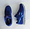 Мужские кроссовки реплика Reebok Classik синие, фото 4
