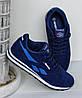 Мужские кроссовки реплика Reebok Classik синие, фото 6