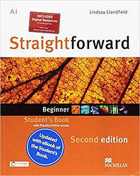 Straightforward Second Edition Beginner Student's Book with Online Access Code & eBook(Учебник)