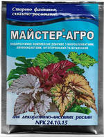 Удобрение МАСТЕР - АГРО 25 г для декоративно-лиственных растений