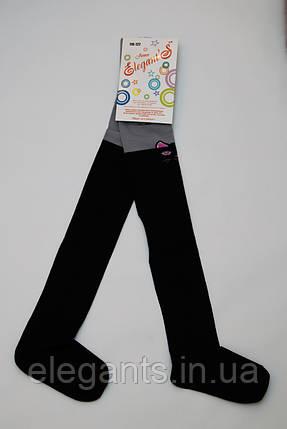 Колготки для девочек 116-122 см./ 6-7 лет/ 90% хлопок, фото 2