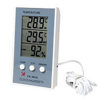 Термометр гигрометр CX-201A c выносным датчиком