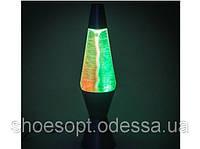 Лампа Лава Торнадо 29см (лава лампа, парафиновая лампа, глиттер лампа), фото 1