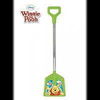 Лопата железная ручка Винни Пух арт.77123, детская лопатка, детская лопатка,игрушка для игр со снегом и песком