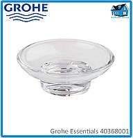 Мыльница стеклянная Grohe Essentials 40368001 (старый арт. 40368000)
