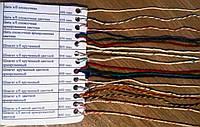 Шпагат для вязки колбасы х/б крученый цветной (в уп. 20кг/8 бобин)