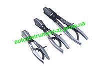 Щипцы для пережима резиновых патрубков 3шт. QS14709