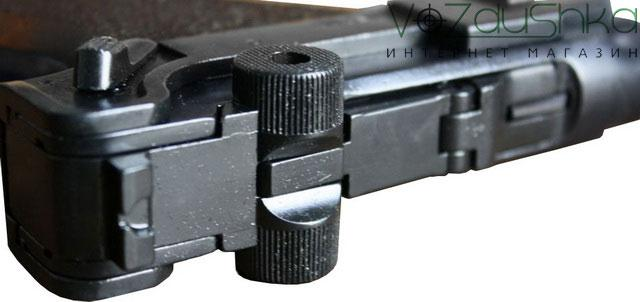 Кривошипно-шатунный механизм запирания ствола ME Luger P-08