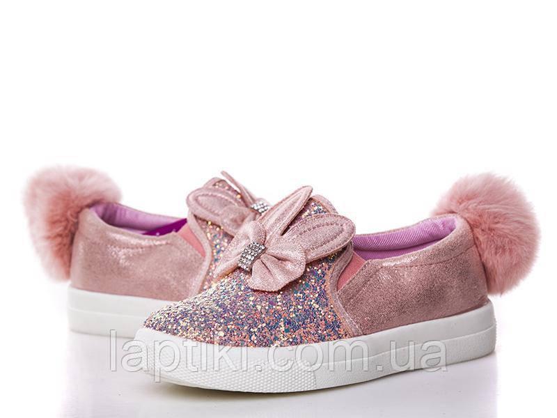 Модные детские слипоны  для девочек