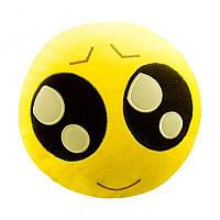 Мягкая игрушка-антистресс Смайл с большими глазами