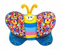 Мягкая игрушка-антистресс Бабочка, джинс