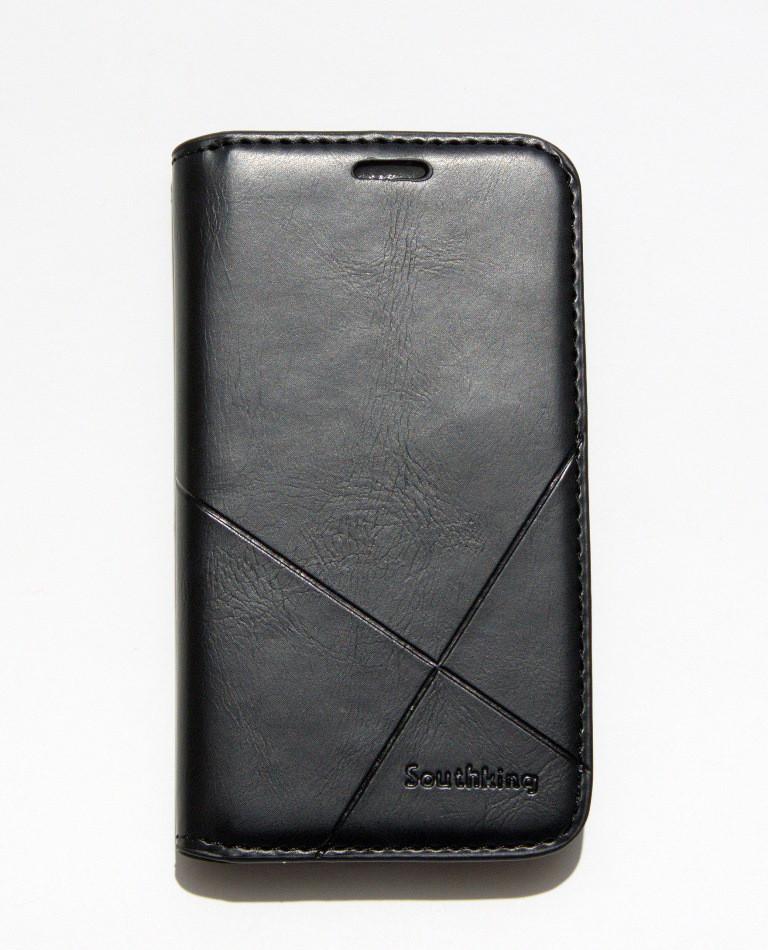 Чехол-книжка для смартфона Samsung Galaxy J1 mini J105 чёрная MKA