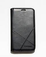Чехол-книжка для смартфона Samsung Galaxy J1 mini J105 чёрная
