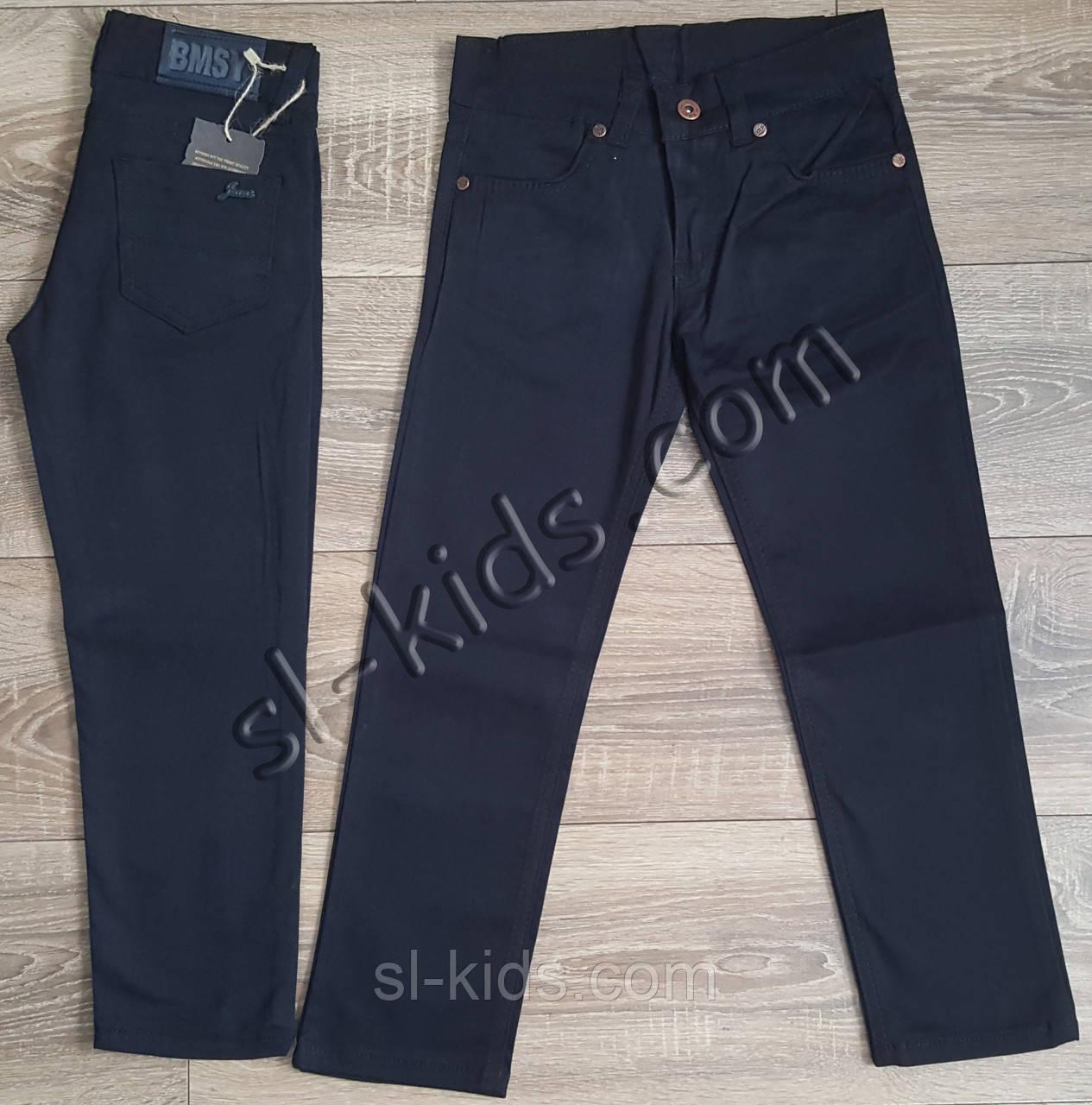 Яскраві штани для хлопчика 7-11 років(роздр) (темно сині) пр. Туреччина