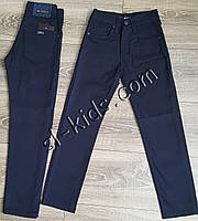 Штаны,джинсы демисезонные для мальчика 11-15 лет(темно синие) розн пр.Турция