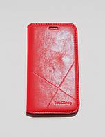 Чехол-книжка для смартфона Samsung Galaxy J1 mini J105 красная