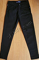 Штаны(скинны),джинсы демисезонные для мальчика 6-10 лет(черные) розн пр.Турция