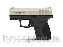 Пистолет стартовый Retay P114 кал. 9 мм цвет:satin