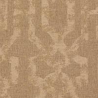 Бежевая жаккардовая ткань для штор с орнаментом «решетка» (imperial trellis) GILBERT-7100-001