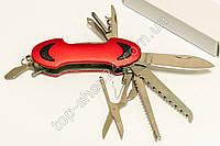 Швейцарский Многофункциональный складной нож мультитул 11 в 1 армейский