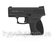 Пистолет стартовый Retay P114 кал. 9 мм цвет:Black