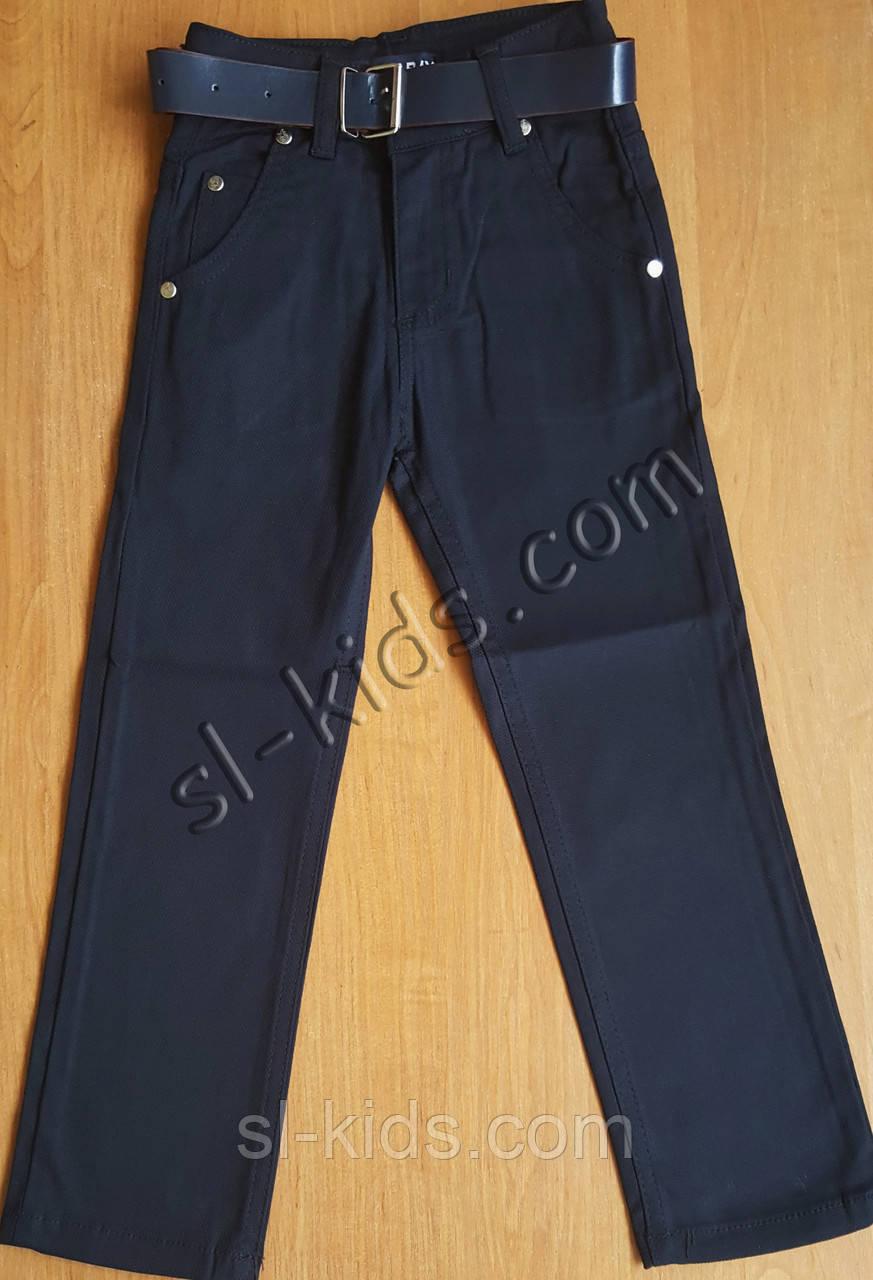 Штани,джинси для хлопчика 6-10 років(роздр)(темно сині) пр. Туреччина
