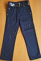 Штаны,джинсы демисезонные для мальчика 6-10 лет(розн)(синие) пр.Турция