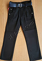 Штаны,джинсы демисезонные для мальчика 6-10 лет(розн)(черные) пр.Турция
