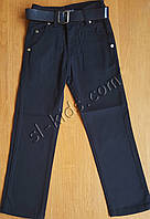 Штаны,джинсы демисезонные для мальчика 11-15 лет(розн)(темно синие) пр.Турция