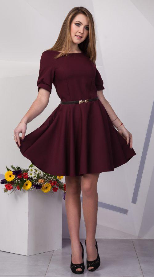 de84a07b5b8 Модное платье с юбкой солнце клеш - Одежда Люкс в Хмельницком