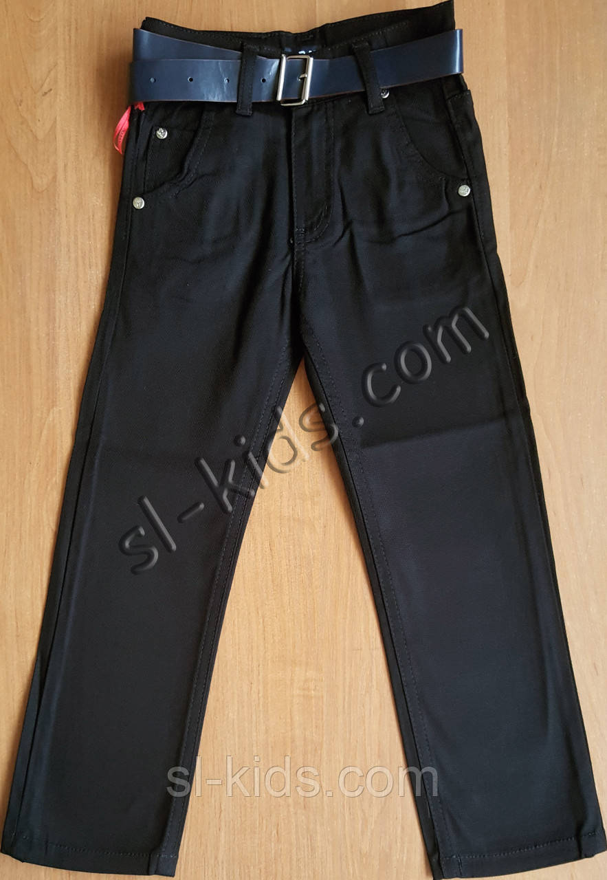 Штани,джинси для хлопчика 11-15 років(роздр)(чорні) пр. Туреччина