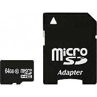 Micro SDHC (UHS-1) HI-RALI  64GB class 10 (48Mb/s) (с адаптером)