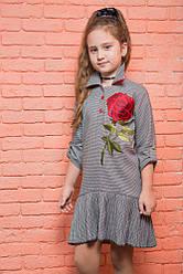 """Платье """"Миссис"""" с розой"""