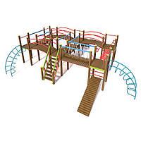 Детский гимнастический комплекс Лабиринт InterAtletika